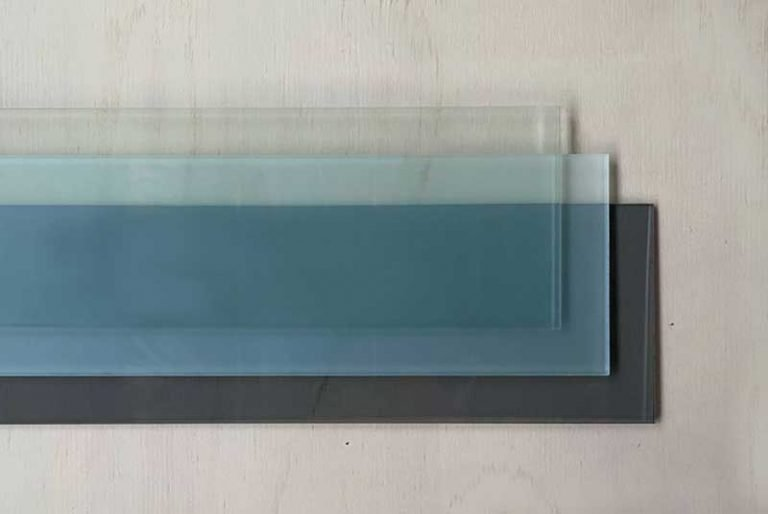 glass finishes for diy glass louvres